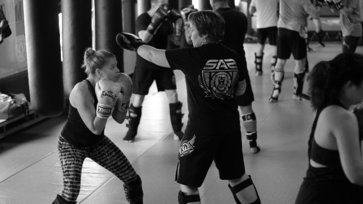 Kickbokstraining